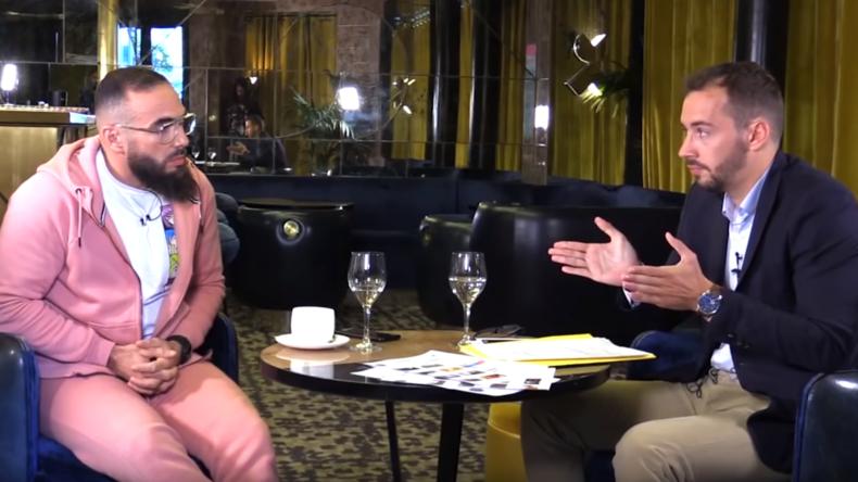 Interview du rapeur Médine par Damien Rieu