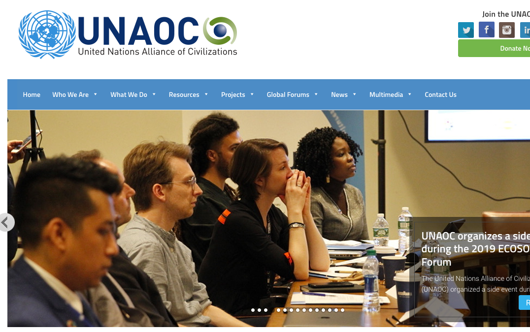 UNAOC « United Nations Alliance of Civilizations »