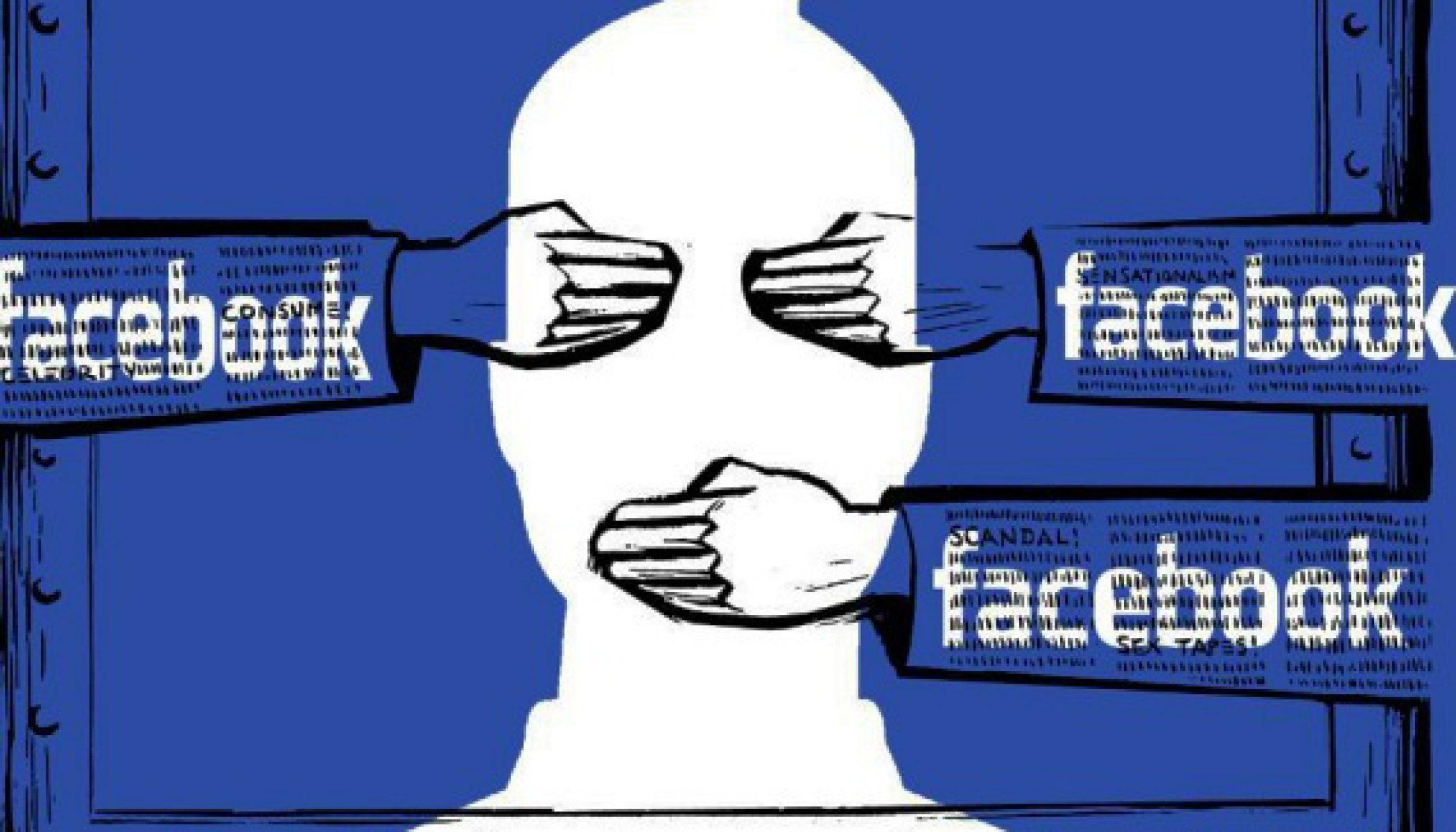 Fin de la liberté d'expression sur Facebook